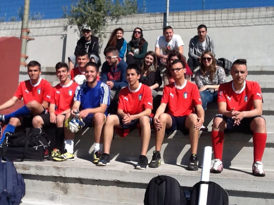 Classe 4A impegnata nel progetto SuperClasse Cup con la squadra maschile