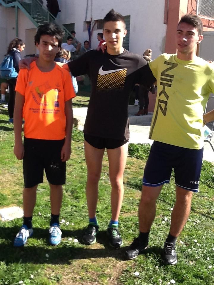 I  nostri atleti di Corsa campestre