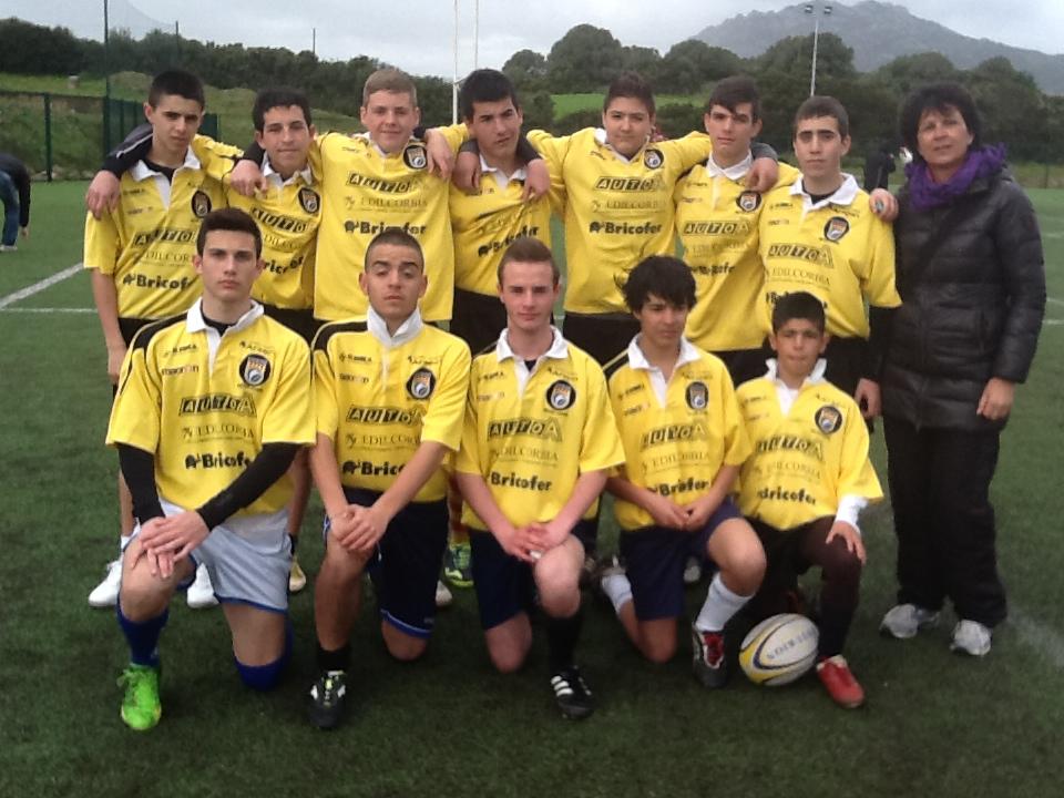 Squadra di rugby campione provinciale e regionale a.s. 2013/14